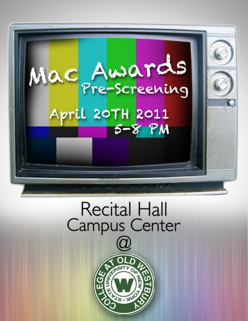 MAC Screening poster