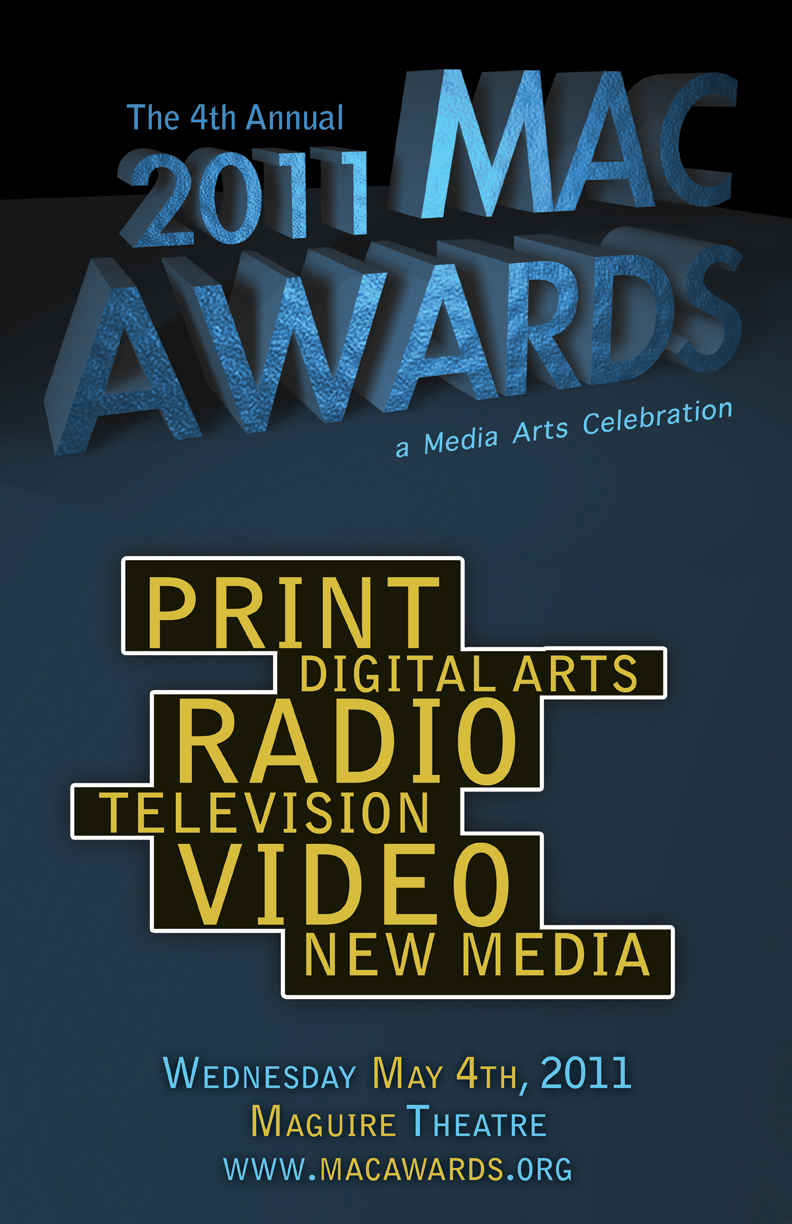 OFFICIAL 2011 MAC AWARDS POSTER