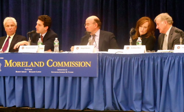 THE MORELAND COMMISION AT SUNY COLLEGE AT OLD WESTBURY