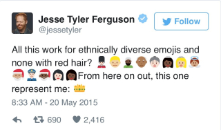 Redhead tweet