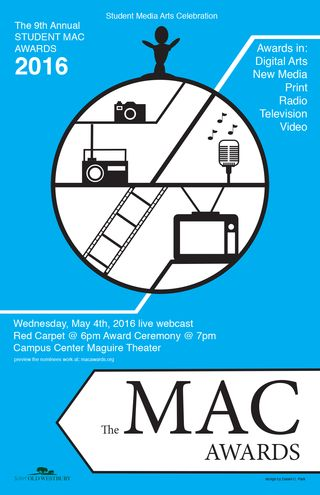 MAC Awards Poster 2016