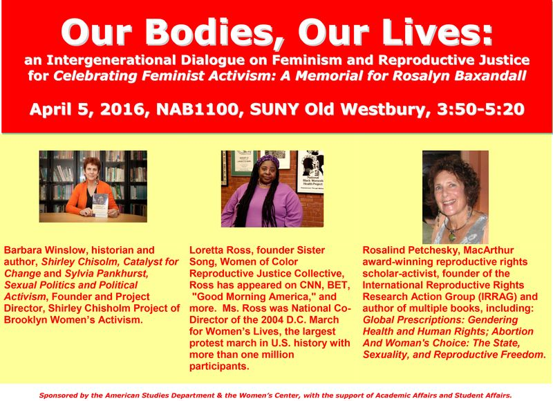 OUR BODIES OUR LIVES FLYER