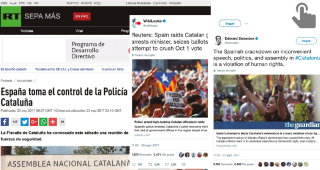 News Stories on Catalan Crisis