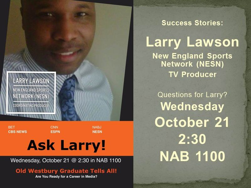 LARRY LAWSON FLYER
