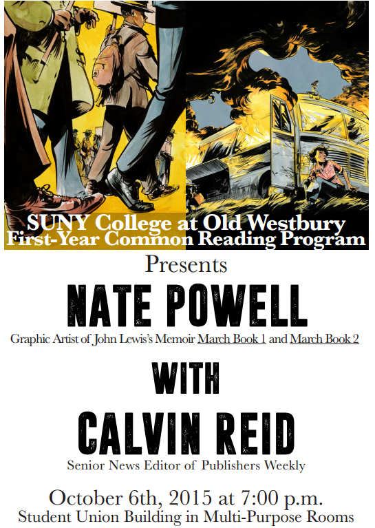 NATE POWELL EVENT FLYER