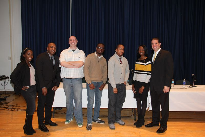 JODIE MASSOP, THOMAS JOHNSON, EAMMON DIGNAM, JOEY PIERRE, ED EASTON JR. GAYLAND GARCIA, JOE MANFREDI