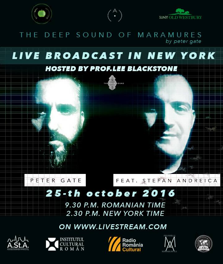The deep sound of maramures_live broadcast poster