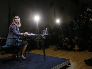 Ksenia Sobchak News Conference